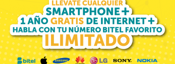 Adquiere un Smartphone con el combo de infarto de Bitel